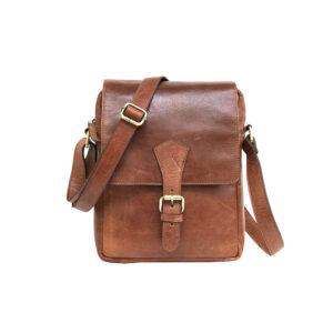 Zunash Leather-Messenger-Sling