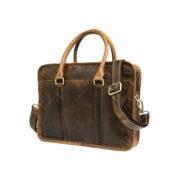 zunash Marshal Leather Bag-5