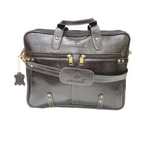 Zunash Leather Esteem Office Bag