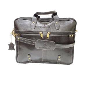 Zunash Leather Esteem Office Bag