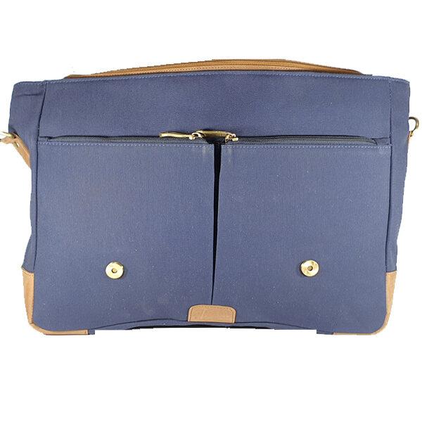 Zunash Basta Canvas Leather Bag
